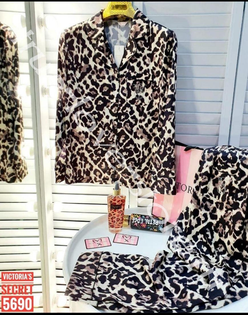 720038- Пижама двойка VS (Леопард - штаны)
