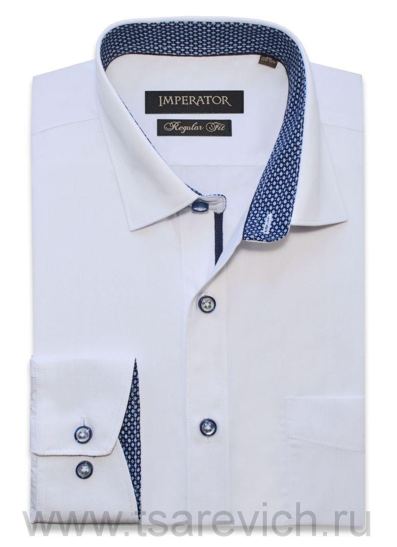 "Рубашки ПОДРОСТКОВЫЕ ""IMPERATOR"", оптом 12 шт., артикул: PT2000/002-П белая"