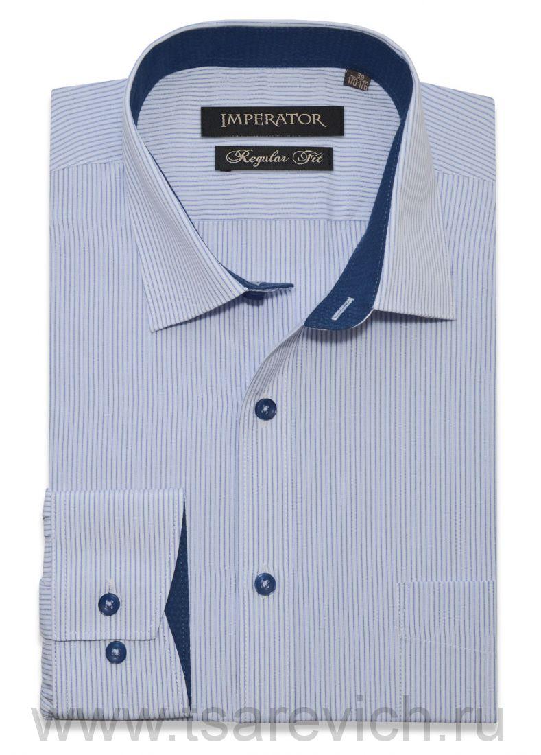 "Рубашки ПОДРОСТКОВЫЕ ""IMPERATOR"", оптом 12 шт., артикул: W60/Vichy22-П"