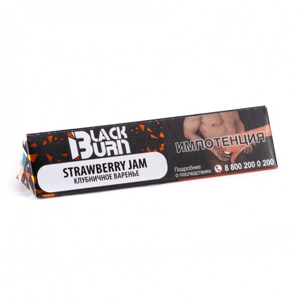 Burn BLACK Strawberry jam 20гр