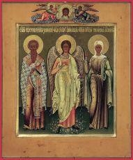 Икона Зиновий и Зиновия мученики