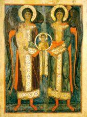Икона Архангелы Михаил и Гавриил