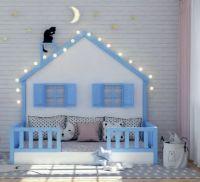 Кровать Домик Butterfly №IR9 (любые размеры)