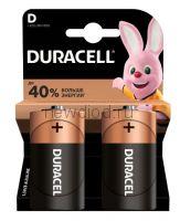 Алкалиновая батарейка D/LR-20 DURACELL