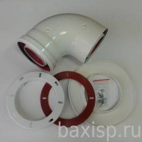 Коаксиальный отвод 90° Для Eco Nova