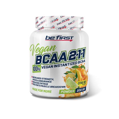 BCAA 2:1:1 Vegan от be fisrt 200 гр