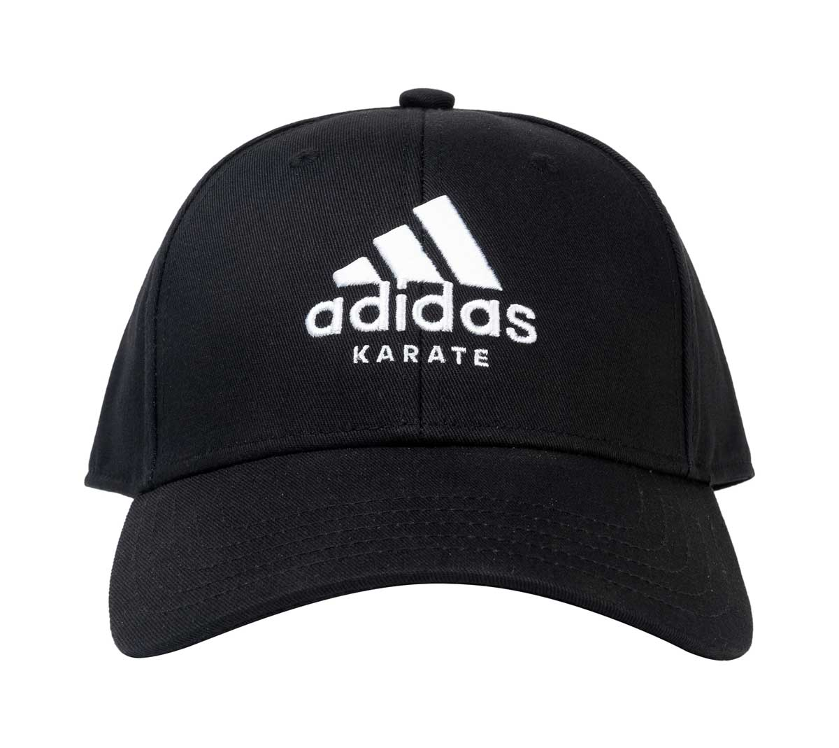 Бейсболка Adidas Baseball Cap Karate черно-белая, размер 58-60см, adiCAP01