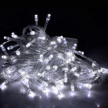 Однотонная гирлянда-нить, 100 ламп 8.5 м
