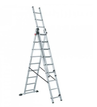 Лестница трёхсекционная LWI 3х9