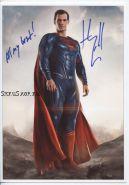 Автограф: Генри Кавилл. Лига справедливости, Человек из стали