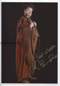 Автограф: Джим Бродбент. Гарри Поттер и Принц-полукровка