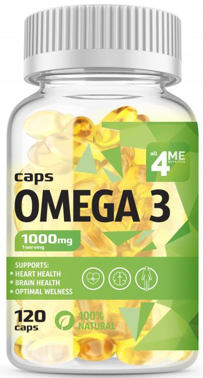 4Me Nutrition Omega 3 1000 mg 120 капс