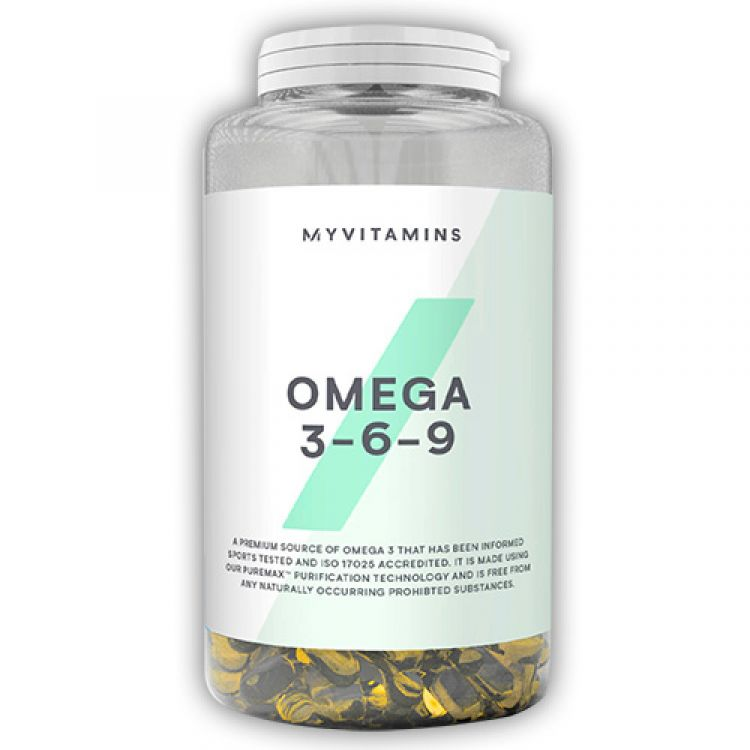 Omega 3-6-9 от Myprotein (120 кап)