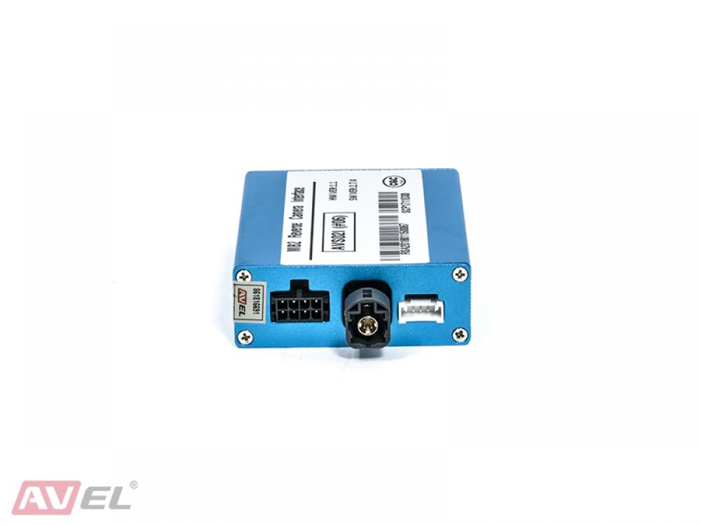 Видеоинтерфейс AVS02i (#06) для подключения камер переднего и заднего вида к заводскому ГУ для Audi / Porsche / Volkswagen