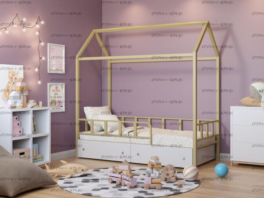 Кровать-домик Рикардо Standard, более 8 цветов