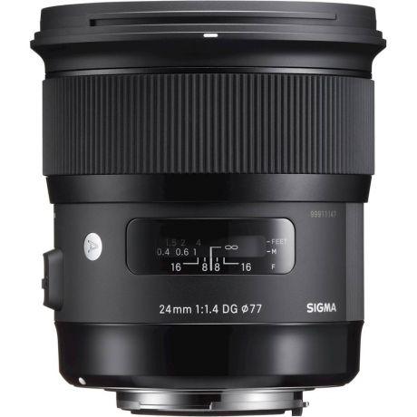 Объектив Sigma AF 24mm f/1.4 DG HSM Canon EF