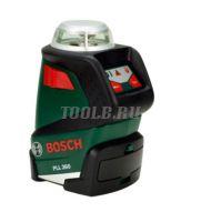Лазерный нивелир PLL 360 Bosch купить с доставкой по России и СНГ