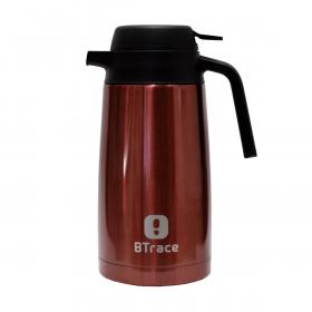 Термос-кофейник BTrace 705-1600 вишневый 1600 мл