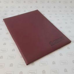 папки с логотипом компании