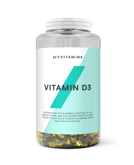 D3 от Myprotein 180 кап