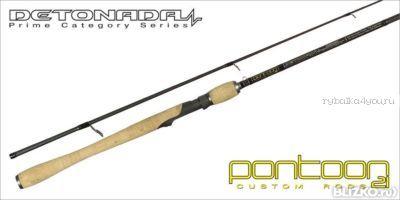 Спиннинговое удилище Pontoon21 Detonada 198 см / тест 7 - 21 гр /  8-20 Lb / Ex.Fast / Fuji K-SIC(Артикул: DTS662MXF)