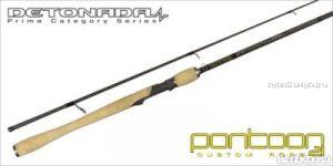 Спиннинговое удилище Pontoon21 Detonada 274 см / тест 7 - 24 гр /  6-15 Lb / Ex.Fast / Fuji K-SIC(Артикул: DTS902MXF)