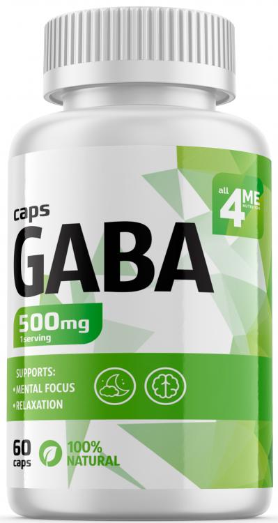 4Me Nutrition GABA 60 капс