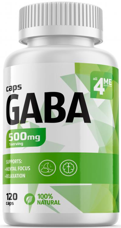 4Me Nutrition GABA 120 капс