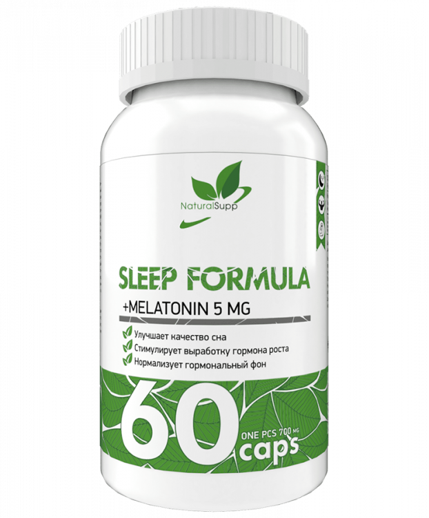 Natural Supp Sleep Formula (60 кап)