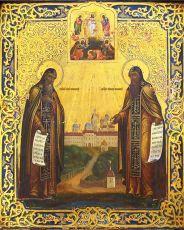 Икона Сергий и Герман Валаамские преподобные