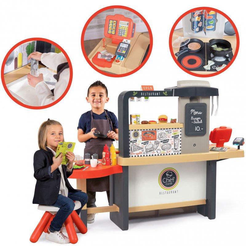 Детская кухня Ресторан Шеф-Повара Smoby 312303