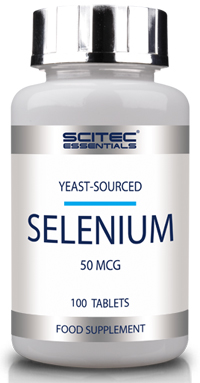 Selenium от Scitec Essentials 100 таб