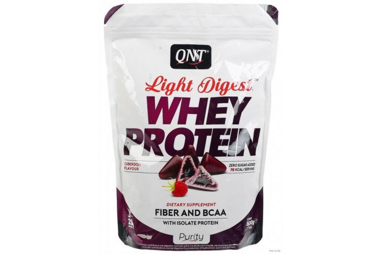 Whey Protein Light Digest от QNT 500 гр
