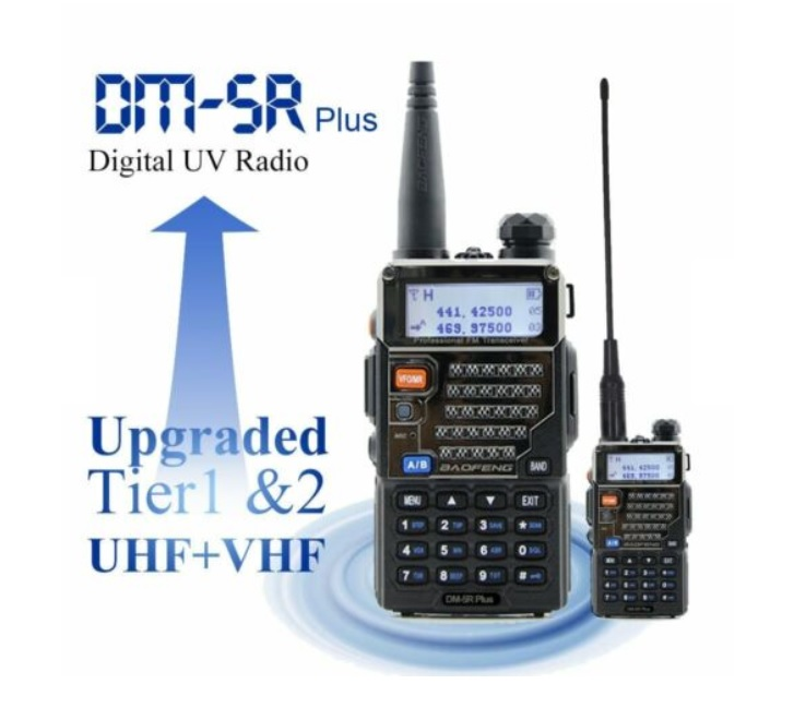 Рация аналогово-цифровая Baofeng DM-5R Plus Digital UV Radio