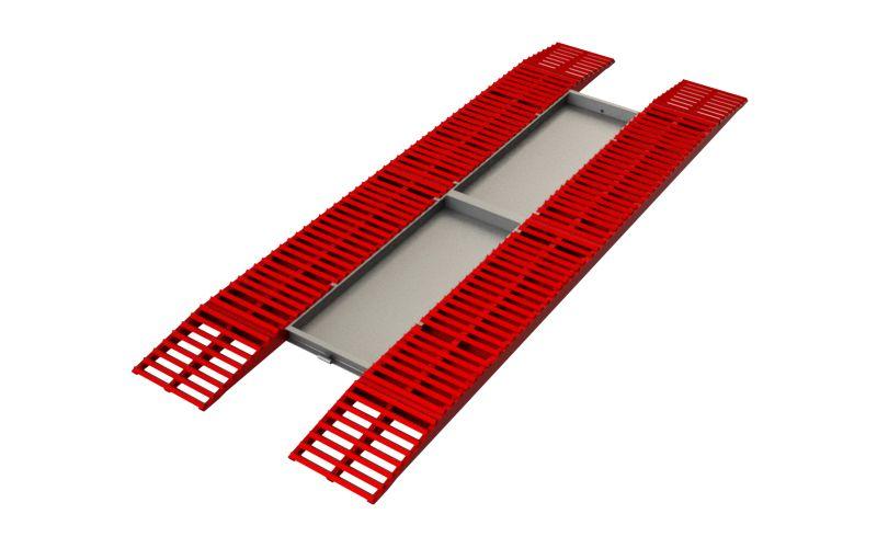 Эстакада разборная металлическая, 11м
