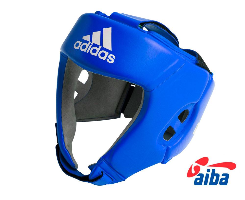 Шлем боксерский Adidas AIBA синий, размер XL, артикул  AIBAH1