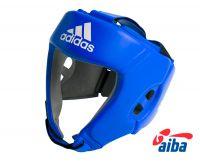 Шлем боксерский Adidas AIBA синий, размер L, артикул  AIBAH1