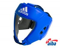 Шлем боксерский Adidas AIBA синий, размер XS, артикул  AIBAH1
