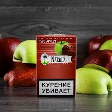 Табак Nakhla New - Ледяное Двойное Яблоко и Мята (Ice Two Apples and Mint, 50 грамм)