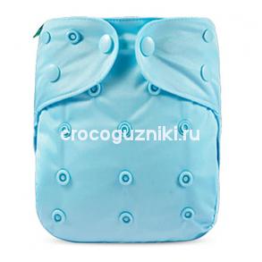 Многоразовый подгузник-обложка Elinfant ГОЛУБОЙ