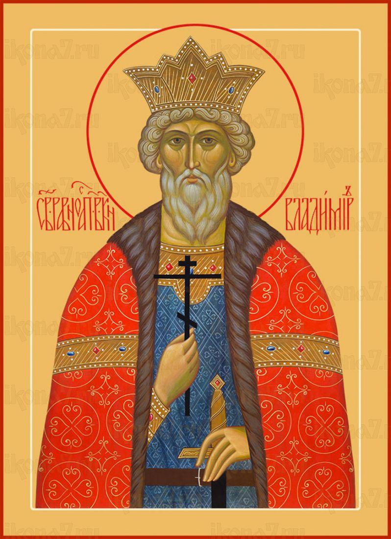 Икона Владимир великий князь