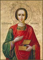 Икона Пантелеимон целитель великомученик