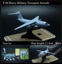 Сборная модель самолета Xian Y-20 без клея