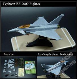 Сборная модель Многоцелевой истребитель EF-2000 Еврофайтер без клея