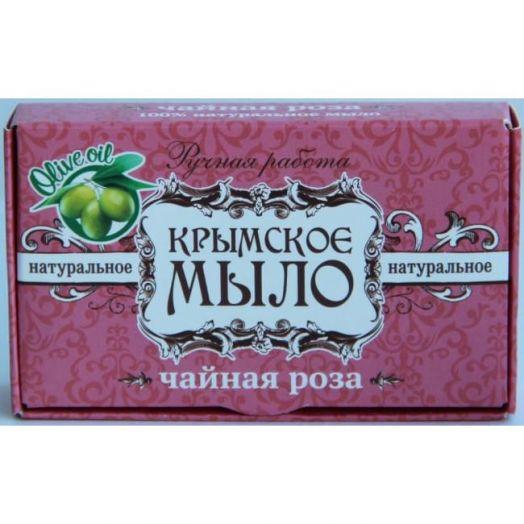 Крымское мыло ручной работы Чайная Роза Дом Природы 45 гр
