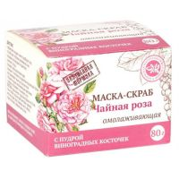 Маска-скраб Чайная роза Крымская Натуральная Коллекция 80 гр