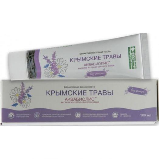 Зубная паста Крымские Травы Аквабиолис Формула Здоровья 100 мл