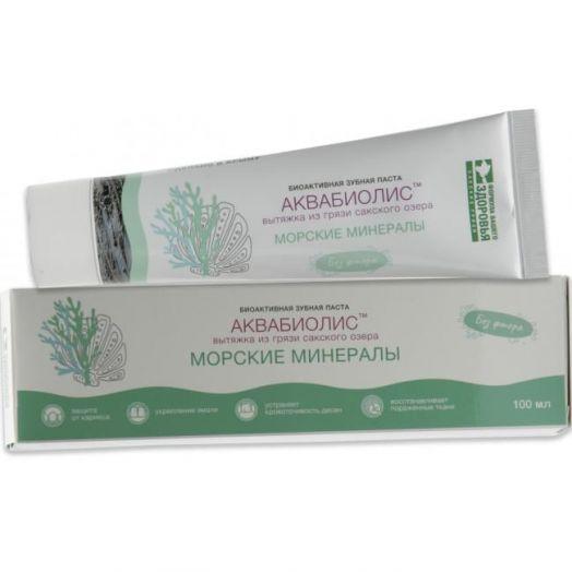 Зубная паста Морские минералы Аквабиолис Формула Здоровья 100 мл