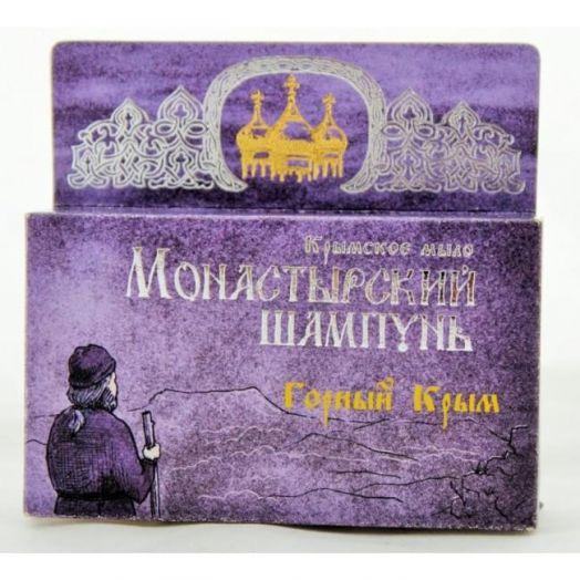 Твердый шампунь Горный Крым Монастырский шампунь Формула Здоровья 80 гр