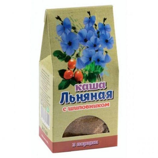 Каша Льняная с шиповником Крымская Стевия 100 гр (3 порции)